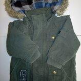Демисезонная парка, куртка с 5мес.до года
