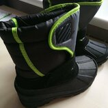 Деми ботинки на флисе, новые с13/31 евро
