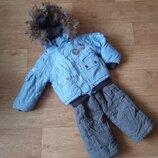 Зимний тепленный костюм размер 92