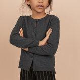 Школьный кардиган для девочки H&M 6-8 лет