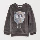 Мягкий свитерок H&M для девочки, 4-6 года