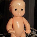 Кукла Ссср 29 см формованные волосы