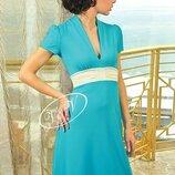 Платье яркое бирюзовое 40-42 р TM V&V