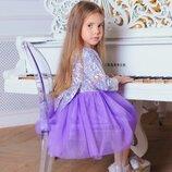 Шикарное нарядное платье голограмма
