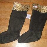 Флисовые носки - вкладыши Hunter в резиновые сапоги размер 31-35