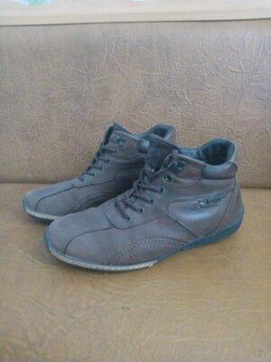 Ботинки р42 стелька 27.5 см кожа
