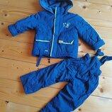 Мальчик куртка комбінезон зимний ріст-98-110