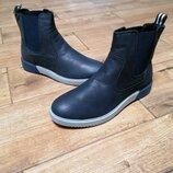 Крутые ботинки челси austin reed. кожа.