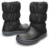 Crocs Women´s Winter Puff Boots сапоги два цвета 34-38рр