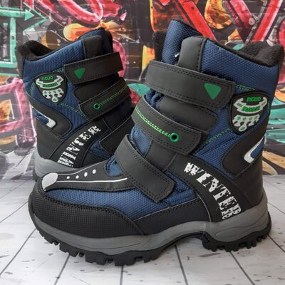 Термо ботинки для мальчика Том. м, код 814
