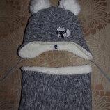 Очень классный зимний теплый набор для малыша