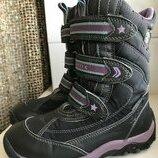Зимние термо ботинки geox, tex 30р. оригинал