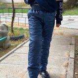 Новиночки Детские штаны на сентипоне, размеры 98- 152