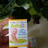 California gold nutrition vitamin d3 детский витамин д3