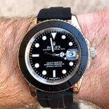 Часы мужские в стиле Ролекс Rolex черные