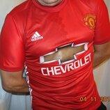Спортивная футбольная футболка Adidas ф.к Манчестер .Pogba .м-л