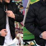 Зимняя мужская короткая куртка Монклер