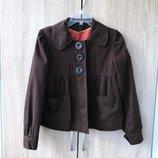 Стильный слегка расклешенный пиджак e-vie с яркой подкладкой uk10/12 - 44/46