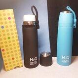 Термос, бутылка для питья H2O BOTTLE 500ML