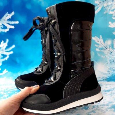 Красивые зимние сапожки для девочки, Tom. m, код 815