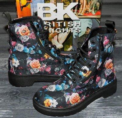 Bk british knights оригинальные, стильные, яркие невероятно крутые ботинки