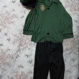 Карнавальный новогодний костюм полицейского на 7-10лет
