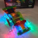 Светящийся конструктор 8 в 1 Laser Pegs