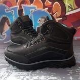 Высокие зимние ботинки для мальчика, код 820