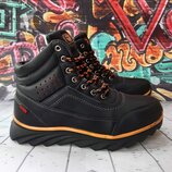 Высокие зимние ботинки для мальчика, код 821