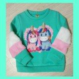 Теплые и модные свитерки на маленьких модниц.Р.104-122