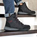 Columbia ботинки зимние мужские серые 8711