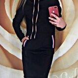 Платье теплое спортивное Respect ,4 цвета