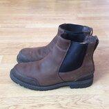 Кожаные ботинки Timberland оригинал 43,5 размера в отличном состоянии