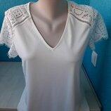 Стильная фирменная блузка кружево H&M