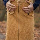 Модная вельветовая юбка для девочки
