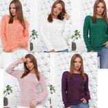 Теплый стильный свитер р44-50 Лучшая цена