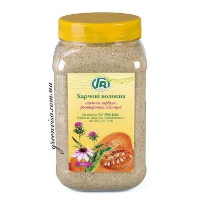 Клітковина насіння гарбуза, розторопші з ехінацеєю ШАЛЕНІ Знижки 15%