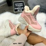 Зимние стильные ботинки