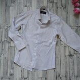 Рубашка белая Pel-club на мальчика с длинным рукавом