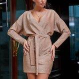 Нарядное стильное платье 1266