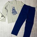 Хлопковая пижама 110-116, 122-128 Primark, для мальчика
