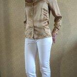 Шикарная шелковая блуза от anne brooks