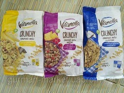 Мюсли Vitanella Musli Crunchy 350g