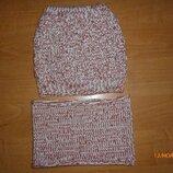 Набор шапка, шарф 2-4 г.