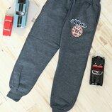 Теплые штаны с начесом для мальчика 110-128 рост Турция