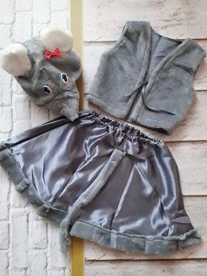От 190 грн Разные Карнавальные костюмы Гном Зайчик Белочка Медведь Снеговик Пингвин Мышка Лисичка