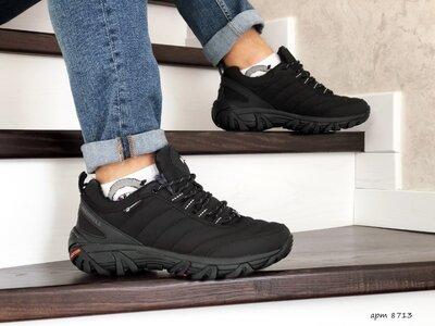 Зимние ботинки мужские Merrell black 8713