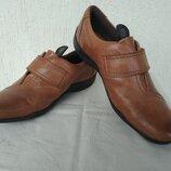 Туфли кожанние Clarks р.37.5