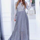 67 Элегантное вечернее платье.ТАН-330