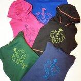 Толстовка свитер худи кофта с капюшоном с начесом унисекс разные цвета и размеры